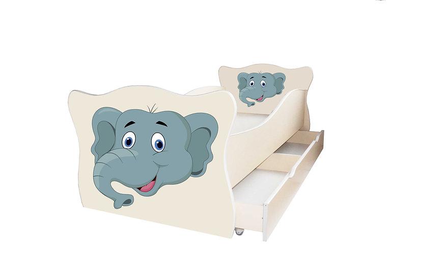 Кровать детская серия Животные (Animal) Детская кровать. Подборка рис №1