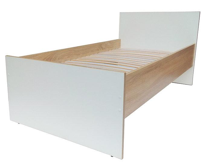 Кровать односпальная детская на ламелях серия Eco, кровать для подростка, кроват