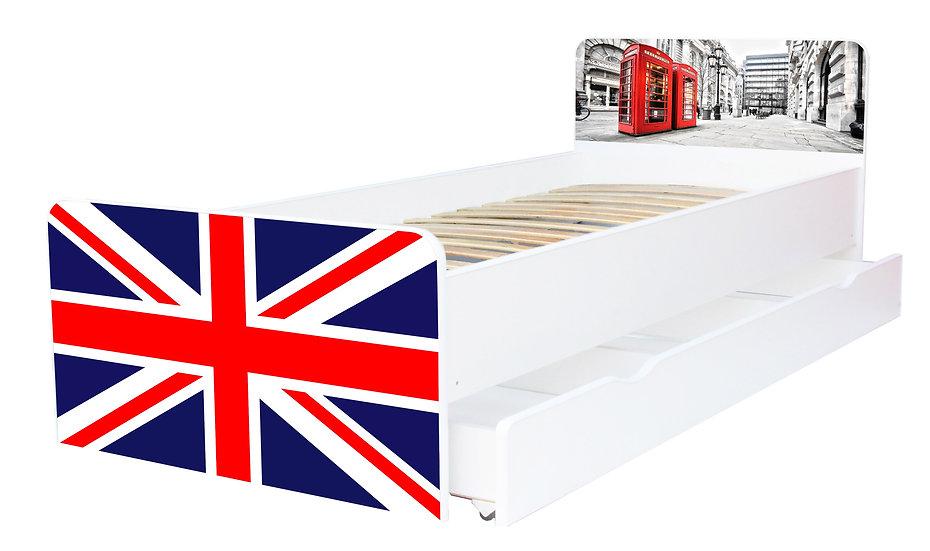 Кровать для подростка серия Beverly, кровать односпальная, кровать детская