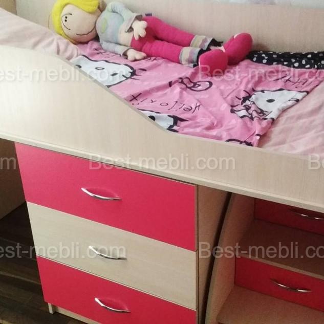 Кровать чердак Смайл