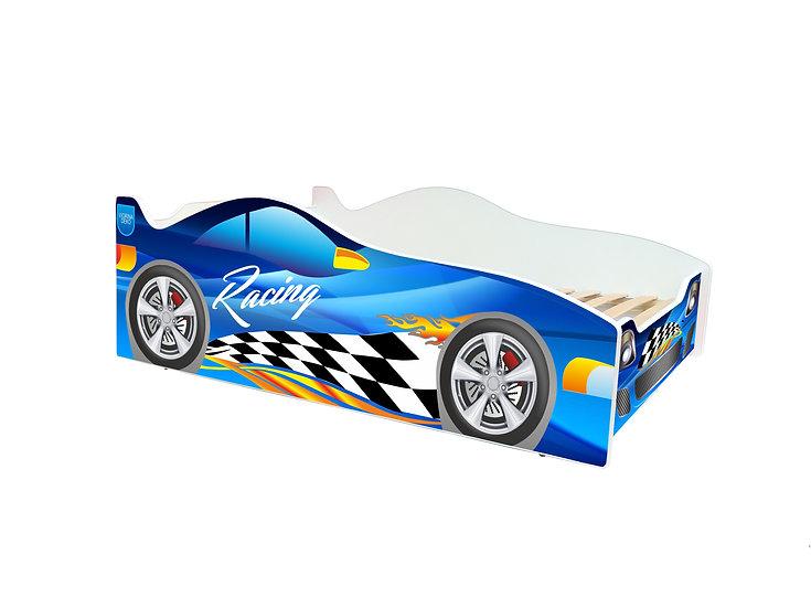 Кровать машина на ламелях серия Evolution