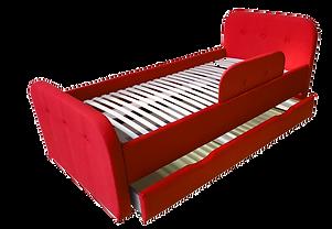 кровать мягкая детская