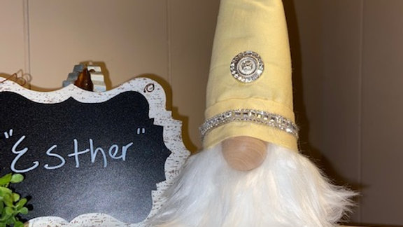 """""""Esther"""" Scandanavian Gnome  with Shoes"""