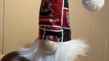 """USC Gamecock Scandinavian Gnome with Shoes 13 1/2"""" x 4"""""""