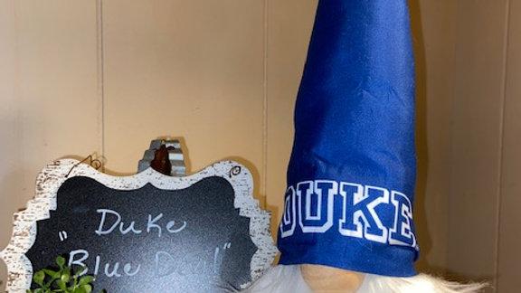 "Duke ""Blue Devil"" Scandanavian Gnome  with Shoes"