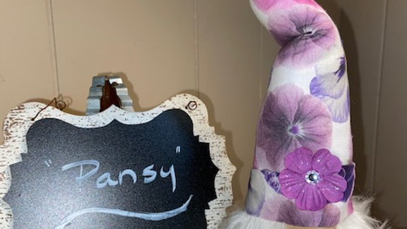 """""""Pansy"""" Scandanavian Gnome  with Shoes"""