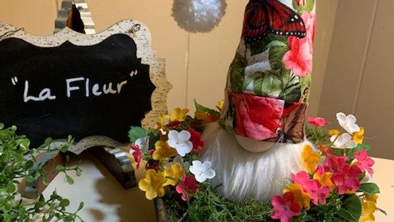 """""""La Fleur"""" Scandanavian Custom Gnome Centerpiece Display"""
