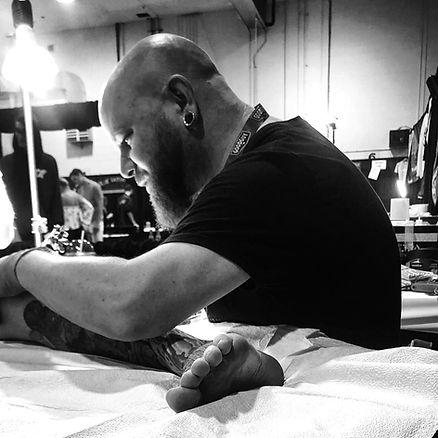 James Jacobs, Enso Tattoo, Calgary Tattoo