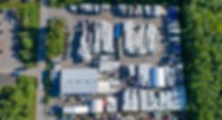 Paketo Recycling tuotantolaitos ilmasta käsin katsottuna – Kellokoski