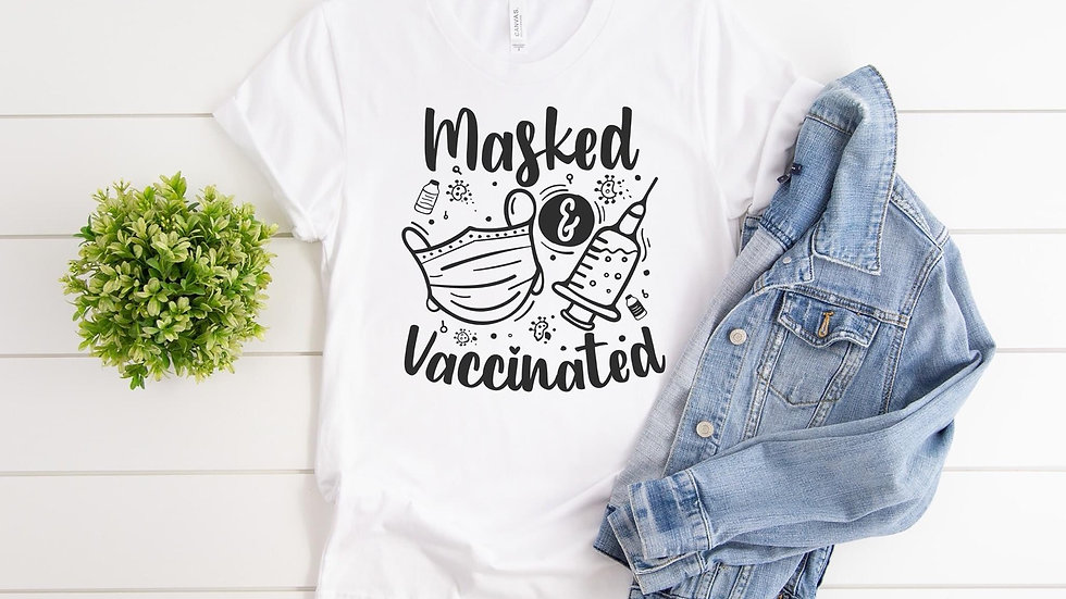 Masked & Vacinated