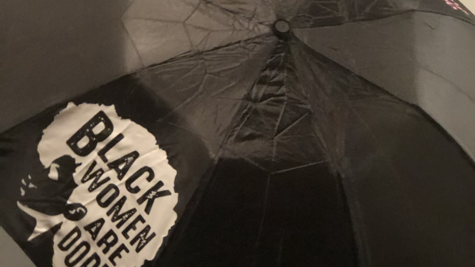 Black women are Dope umbrella