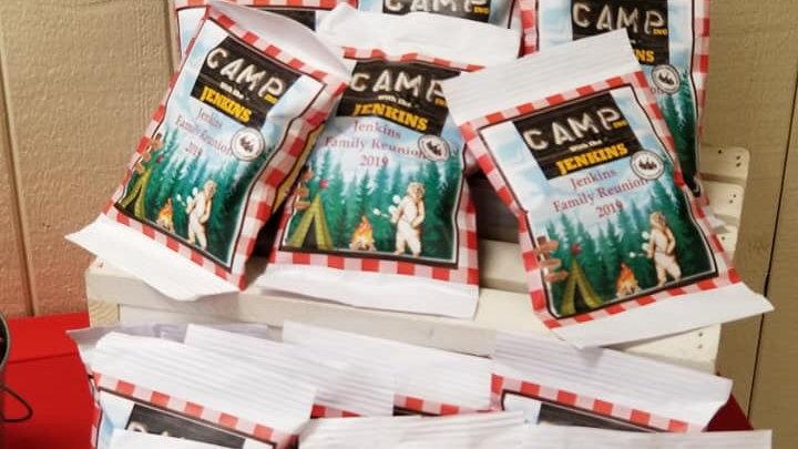 Custom chip bags (Dozen)