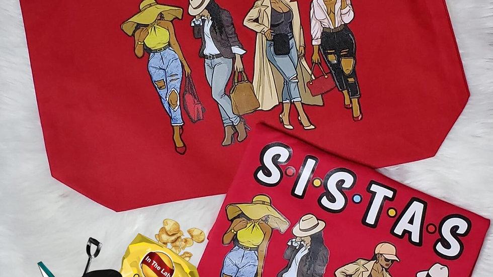 SISTAS SHIRT & BAG COMBO