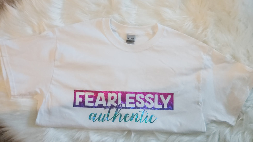 Fearlessly Authentic Pride Shirt