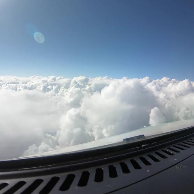 GW - Through Cumulus Clouds