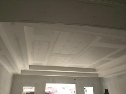 Gypsum Ceiling Installation