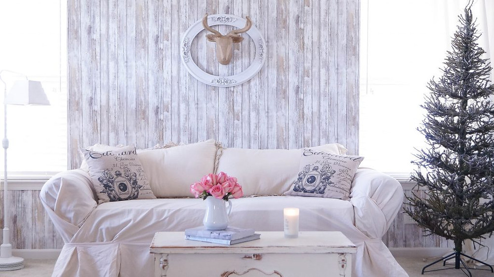 Planked Accent Wall