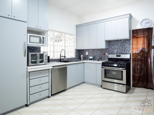 Painted Kitchen for a Modern, Fresh Look