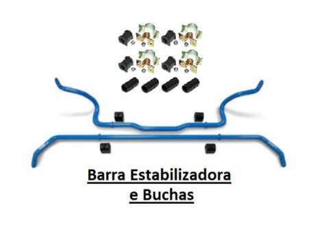 Buchas Da Barra Estabilizadora