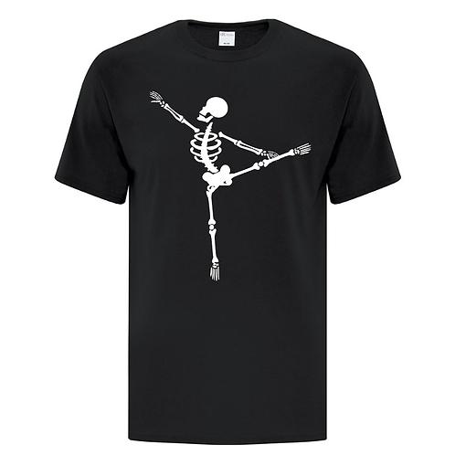 Ballet Skeleton Halloween Unisex T-Shirt