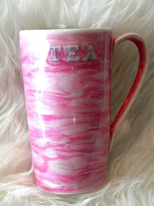 Pink Tea Tall Mug