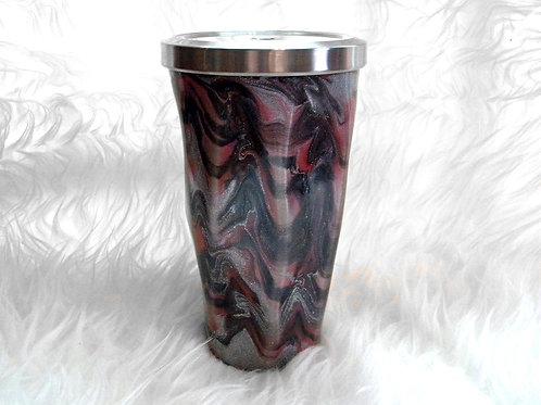 Geometric Cup Glows in the Dark