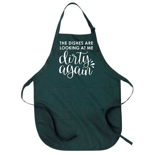 The Dishes Are Looking Apron