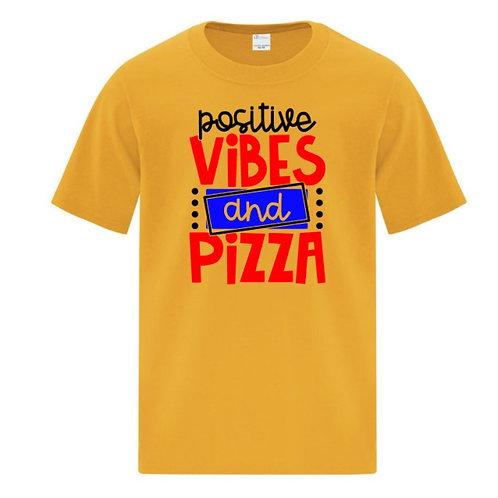 Positive Pizza Positivity Kids T-Shirt