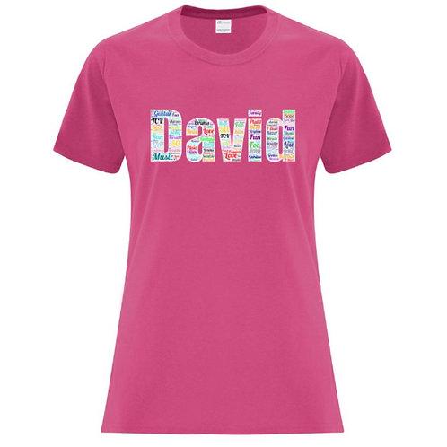 David Ladies Fit T-Shirt