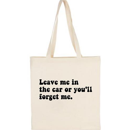 Budget Canvas Tote Bag - Custom Design