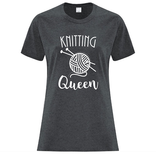 Knitting Queen Crafters T-Shirt
