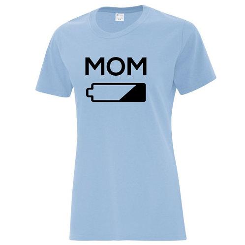 Mom Battery Mom T-Shirt