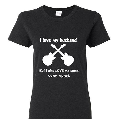 Love My Husband But Ladies Fit T-Shirt