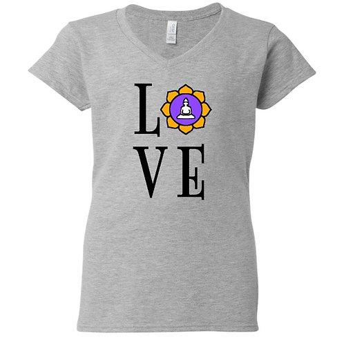 Lotus Yoga Love T-Shirt