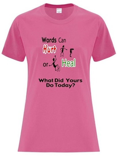 Ladies Anti Bullying T-Shirt