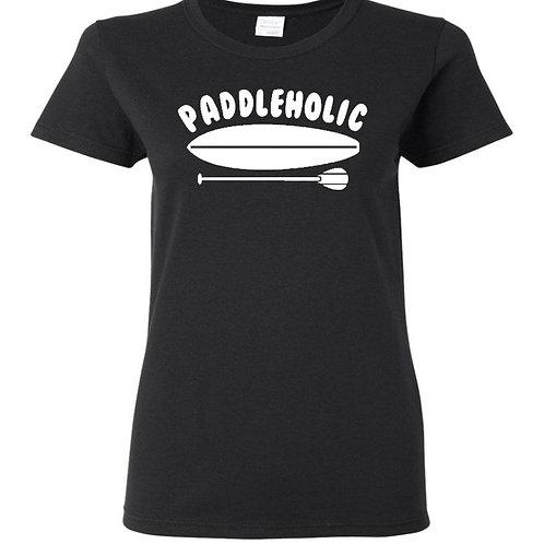 Paddleholic Ladies T-Shirt