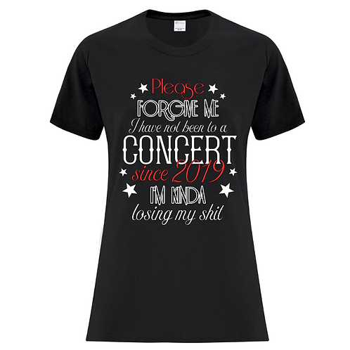 Concert Stars Ladies Fit T-Shirt