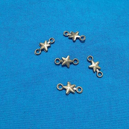 Star Bronze 14mm Long Connector