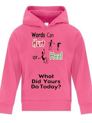 Youth Hoodie Anti Bullying T-Shirt