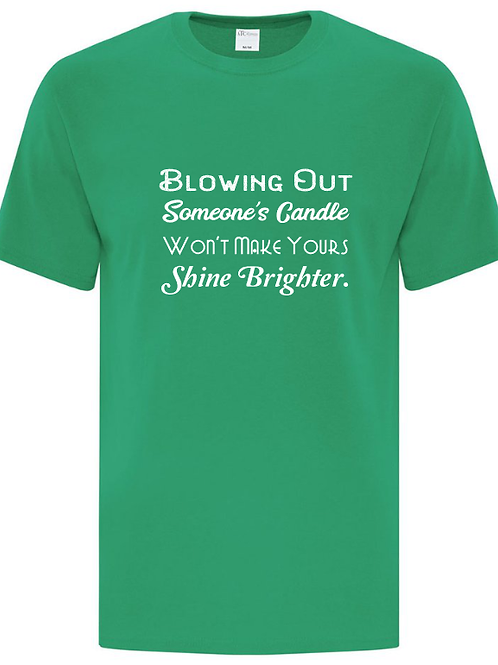 Blowing Out Someone's Candle Unisex T-Shirt