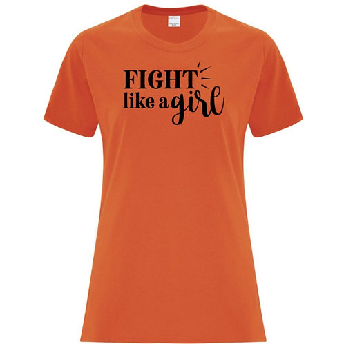Fight Like A Girl Female Empowerment T-Shirt