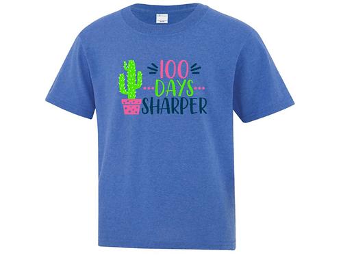 Youth Sharper 100 Days of School T-Shirt