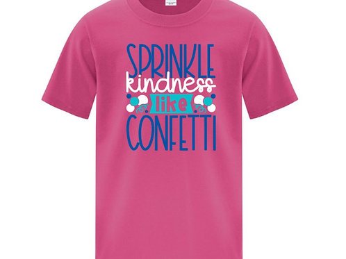 Kindness Confetti Positivity Kids T-Shirt