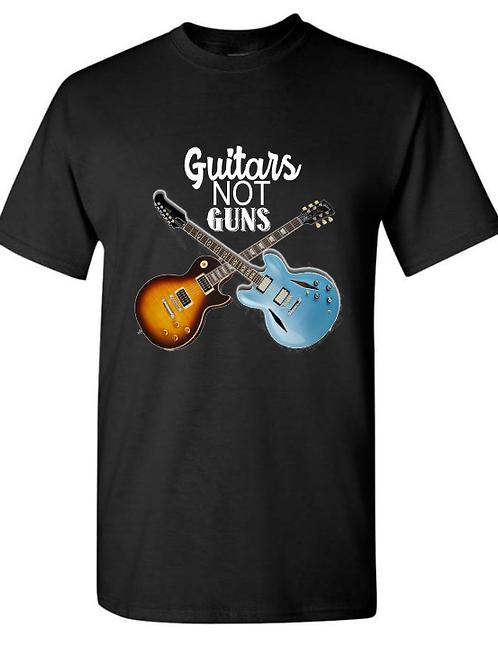 Guitars Not Guns Unisex T-Shirt