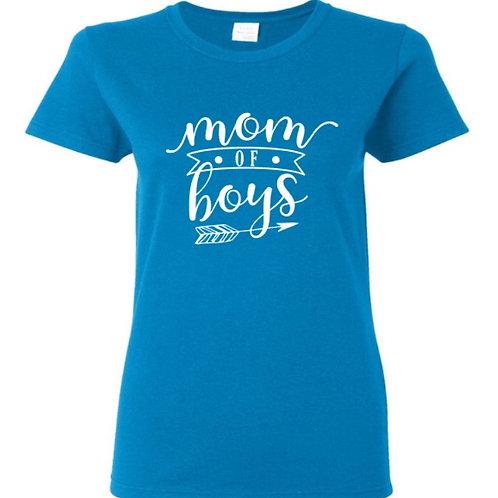 Mom of Boys Mom T-Shirt