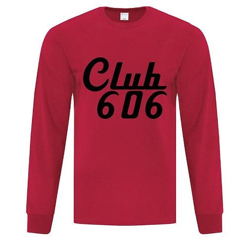 Club 606 Long Sleeve Shirt - Custom Design