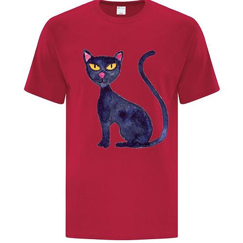 Kids Cat Painting Unisex T-Shirt