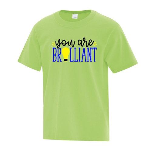 You Are Brilliant Positivity Kids T-Shirt