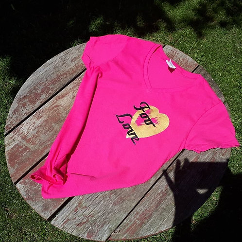 Foo Love Ladies Fit T-Shirt