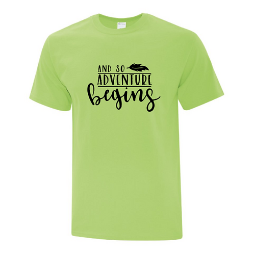 And So Adventure Begins Unisex T-Shirt